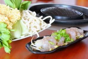 Thaise Grill met vis en zeevruchten